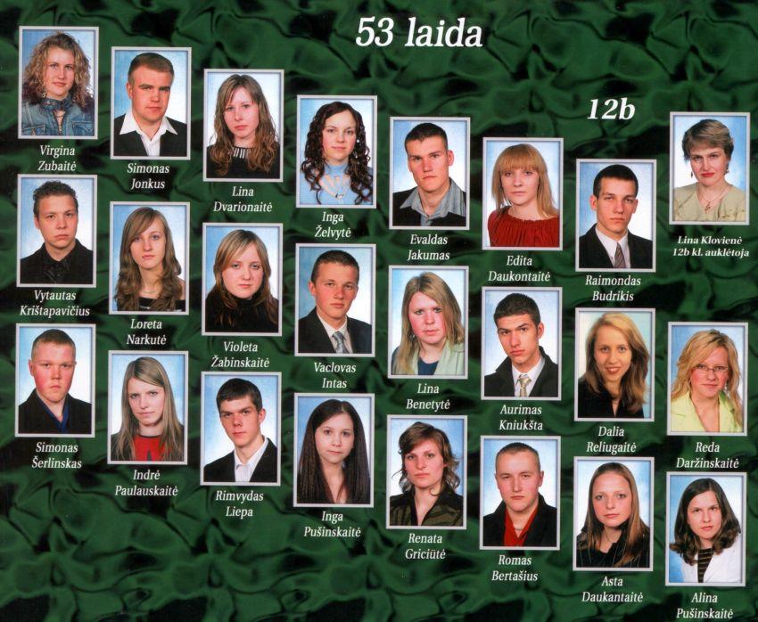 53 laida B klasė